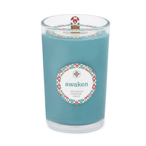 Candle - [Basil & Lime - Awaken] 6.5oz Seeking Balance