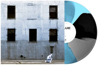 Boston Manor - GLUE [Indie Exclusive Limited Edition Baby Blue, Grey and Black Twist LP]