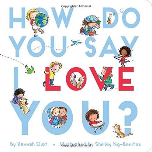 Book - How Do You Say I Love You