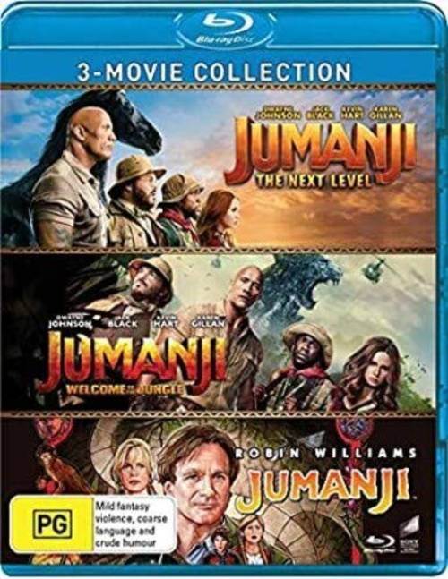 Jumanji: 3-Movie Collection: Jumanji / Jumanji: Welcome to the Jungle /Jumanji: The Next Level