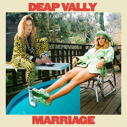 Deap Vally - Marriage [Indie Exclusive Limited Edition Orange Marble LP]