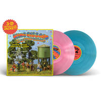 King Gizzard & The Lizard Wizard - Paper Mâché Dream Balloon: Deluxe 3-D + Instrumental Edition [Limited Edition Pink Translucent + Blue Sea Glass 2LP]