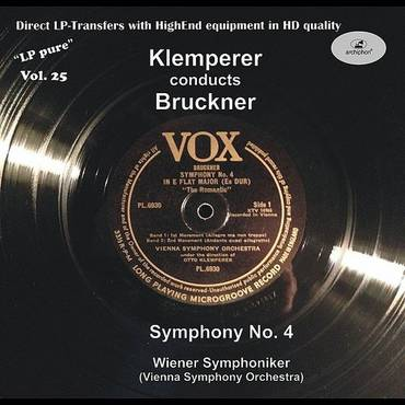LP Pure, Vol. 25: Klemperer Conducts Bruckner
