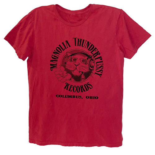 Magnolia Thunderpussy - Red Short Sleeve (XS)