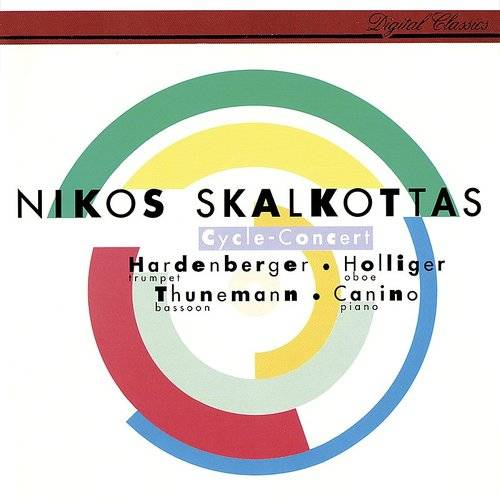 Quartet No.1 For Piano And Winds (Oboe, Trumpet And Bassoon): Skalkottas: Cycle Concert