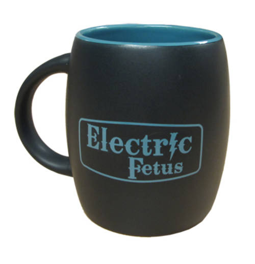 Blk/Blu Electric Fetus Mug