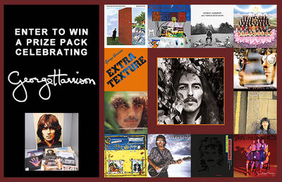 ENTER TO WIN A PRIZE PACK CELEBRATING GEORGE HARRISON