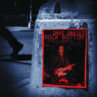 Dave Davies - Rock Bottom: Live At The Bottom Line [RSD Drops Aug 2020]
