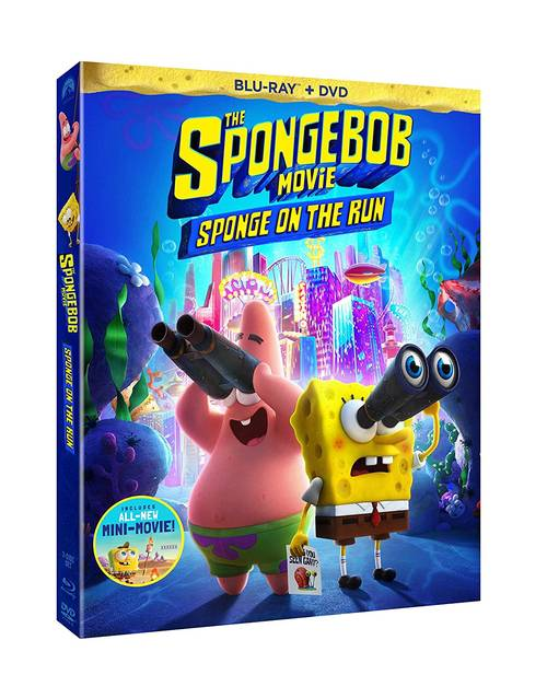 Spongebob Squarepants - The SpongeBob Movie: Sponge on the Run