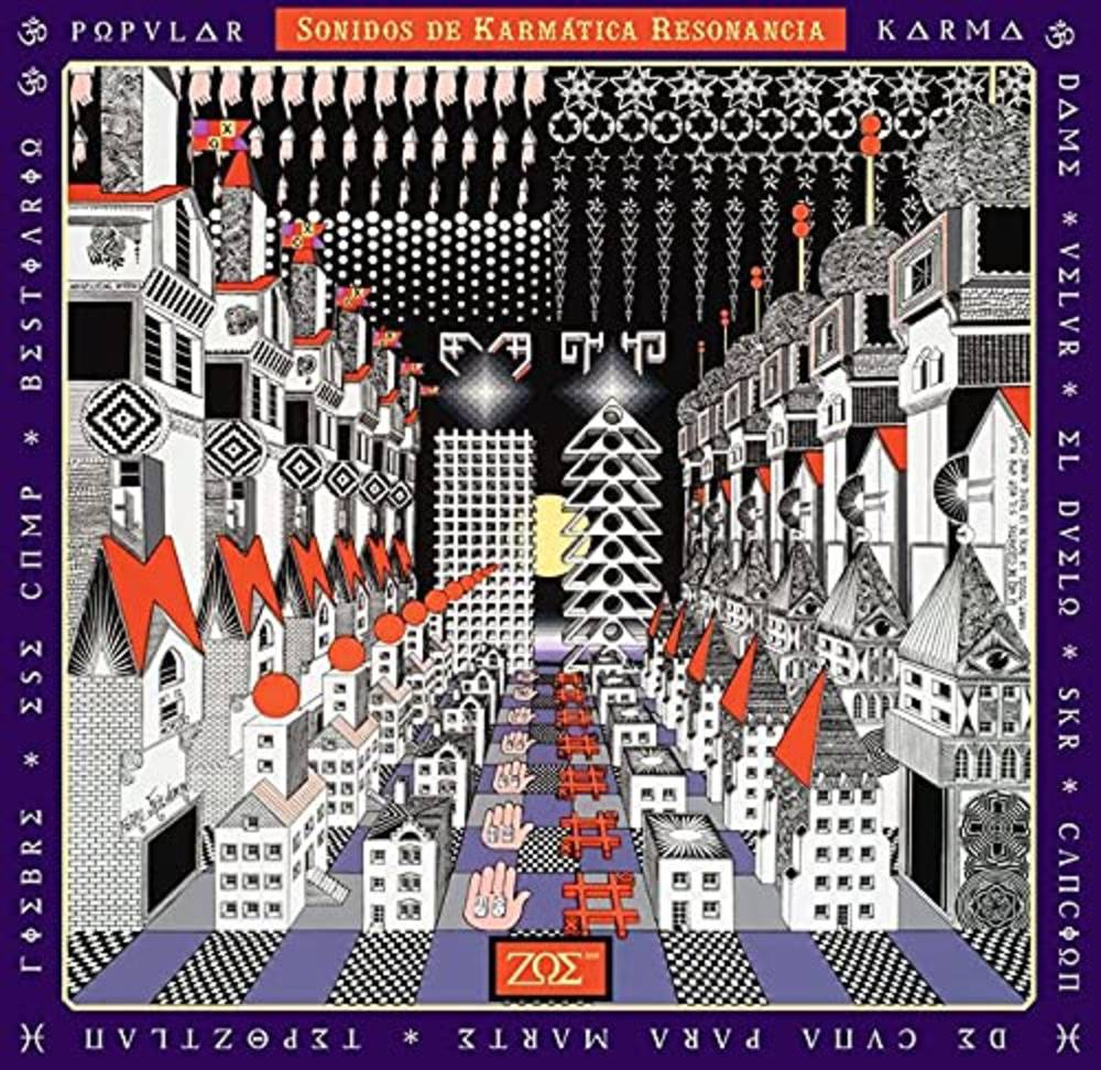 Zoe - Sonidos De Karm tica Resonancia [Deluxe Yellow + Red 2 LP]