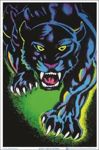 blacklight poster  - KING OF THE NIGHT BLACKLIGHT POSTER