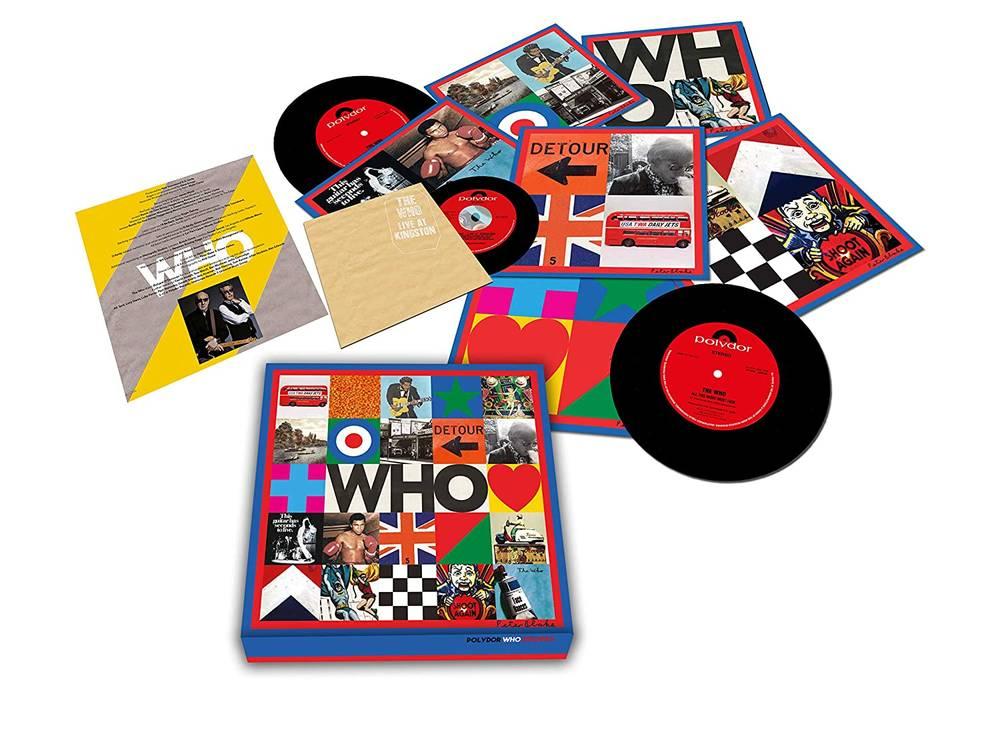 The Who - WHO [7 Singles Box Set w/ Live At Kingston CD]