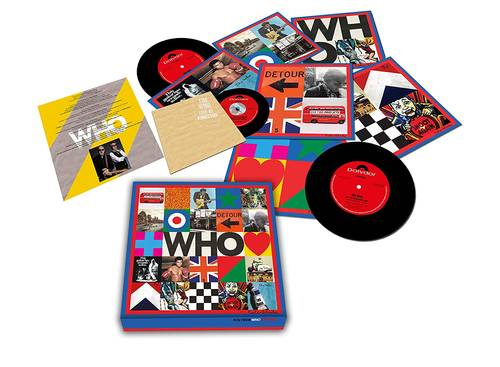 The Who - WHO [7in Singles Box Set w/ Live At Kingston CD]