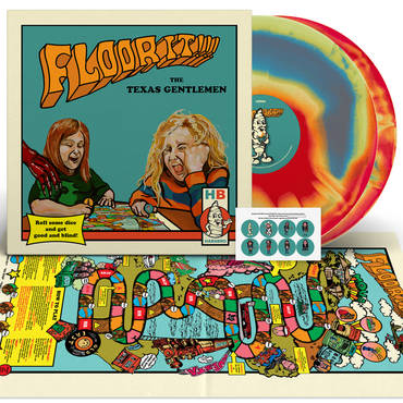 Floor It!!! [Indie Exclusive Limited Edition Blue, Red, Yellow 2LP+Board Game]