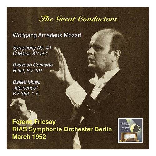 The Great Conductors: Ferenc Fricsay & Rias Symphonie Orchester Berlin – Mozart: Symphony No. 41, C Major, Kv 551, Bass