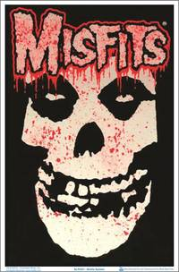 Blacklight - Misfits Splatter Black Light Poster