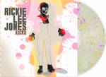 Rickie Lee Jones - Kicks [Indie Exclusive Limited Edition Clear with Silver/Yellow/Pink Splatter LP]