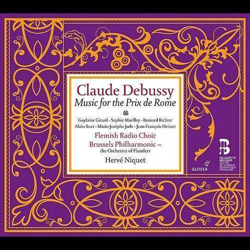 Debussy: Music For The Prix De Rome