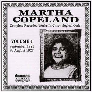 Martha Copeland, Vol.1 (1923-1927)