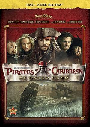 Pirates Of The Caribbean: At World's End [2 Blu-ray / DVD Combo in DVD Packaging]