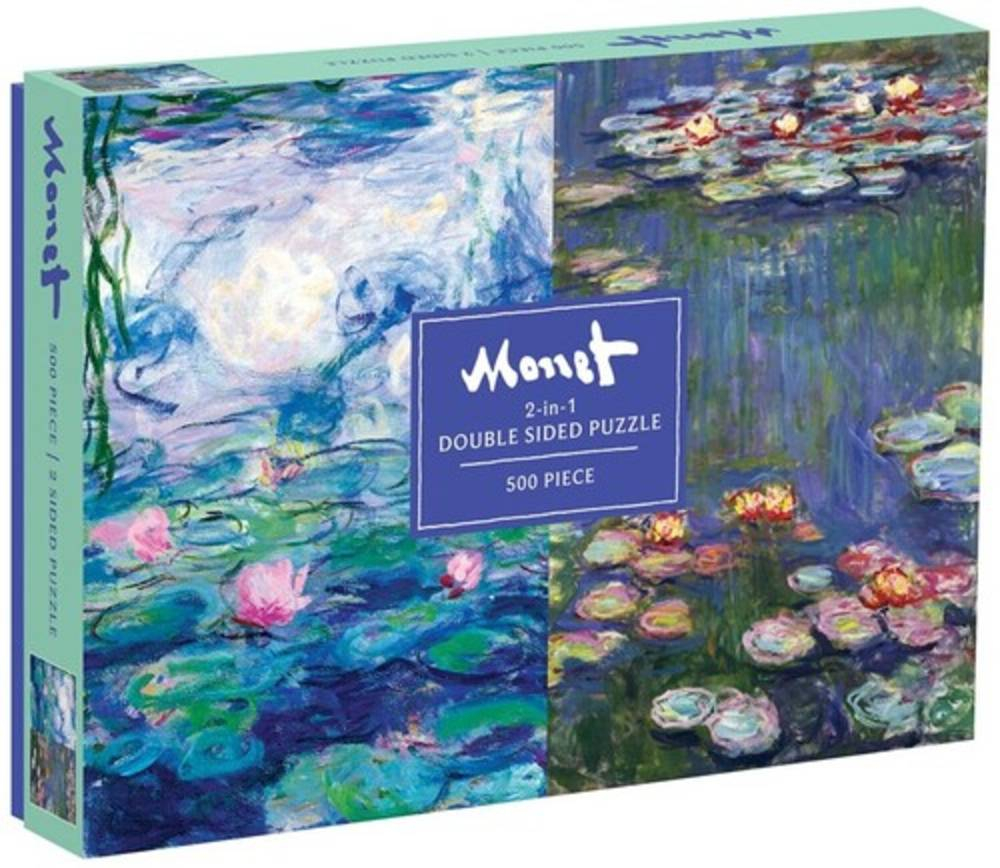 - Monet 500 Piece Double Sided Puzzle