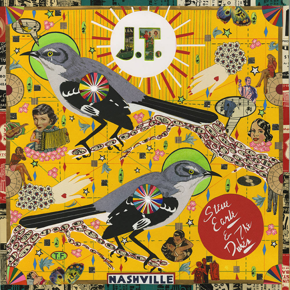 Steve Earle & The Dukes - J.T. [Indie Exclusive Limited Edition Red LP]