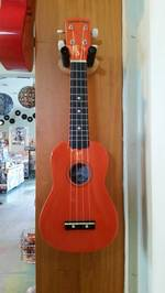 Diamond Head Soprano Uke - Orange Ukulele Du-103