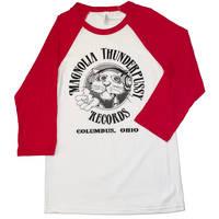 Magnolia Thunderpussy - White/Red Raglan (XS)