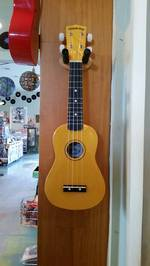 Diamond Head Soprano Uke - Yellow Ukulele