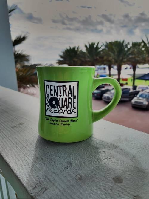 CSR Merch - LIME GREEN COFFEE MUG