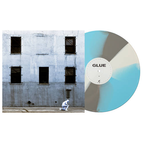 GLUE [Indie Exclusive Limited Edition Baby Blue, Grey and Black Twist LP]