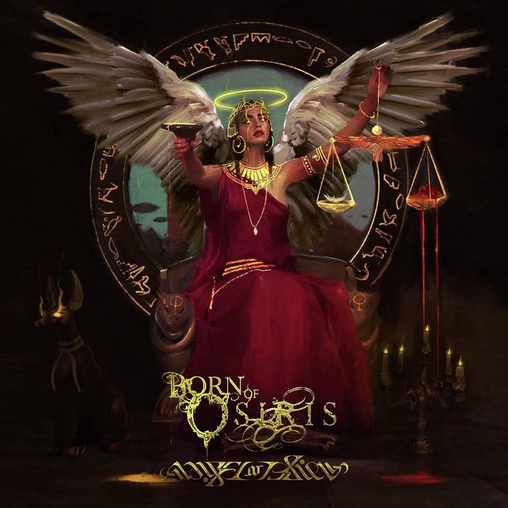 Born Of Osiris - Angel Or Alien [Ultra Clear w/ Neon Pink & Black Splatter LP]