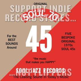 Soul Jazz Records Presents Soul 70