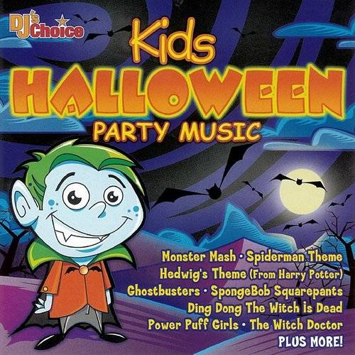 Dj's Choice Kids Halloween Party Music / Various
