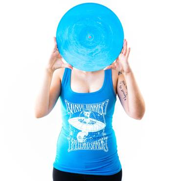 Buddy In Space - Women's Blue Tank Top [a. Small]