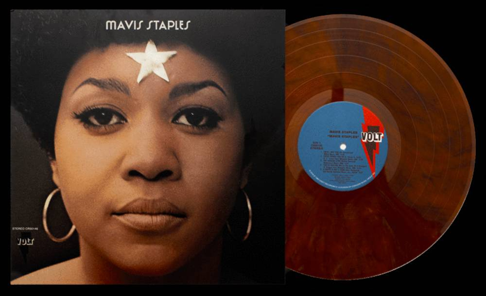 Mavis Staples - Mavis Staples [Vinyl Me, Please Edition Tiger's Eye LP]