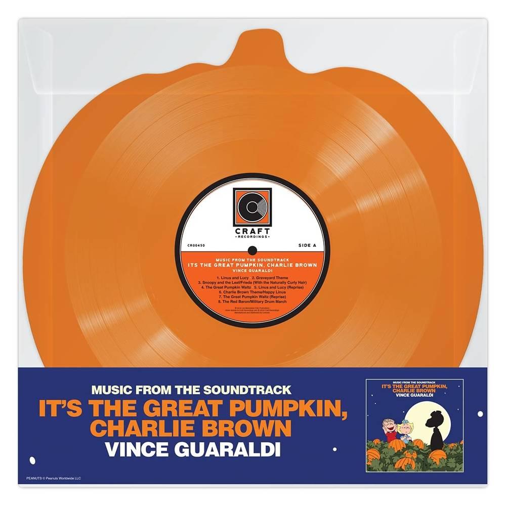 Vince Guaraldi - It's The Great Pumpkin, Charlie Brown [Orange Pumpkin Shaped LP]