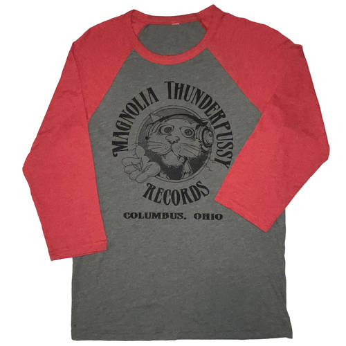 Magnolia Thunderpussy - Grey/Red Raglan (XS)