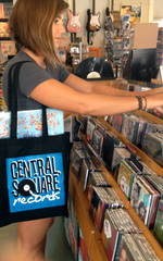 Central Square Records - CSR BLACK TOTE BAG