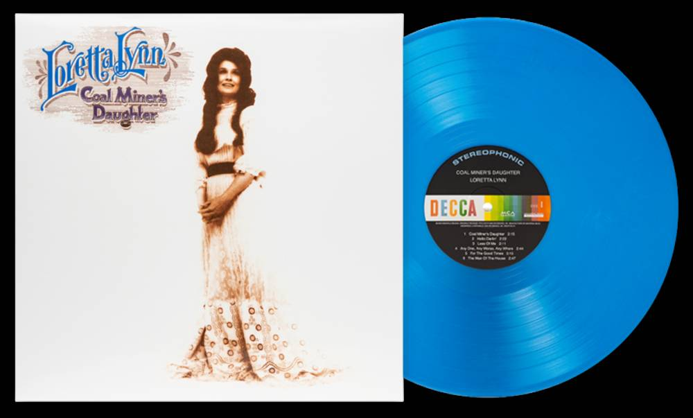 Loretta Lynn - Coal Miner's Daughter [Vinyl Me, Please Edition 180G Marbled Blue LP]