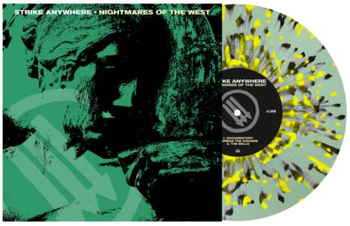 Nightmares Of The West EP [Indie Exclusive Limited Edition Coke Bottle Clear w/ Heavy Neon Yellow & Black Splatter Vinyl]