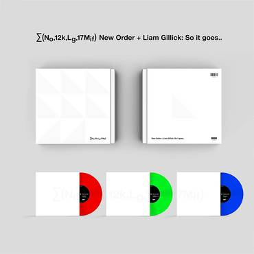(No,12k,Lg,17Mif) New Order + Liam Gillick: So it goes.. [LP]