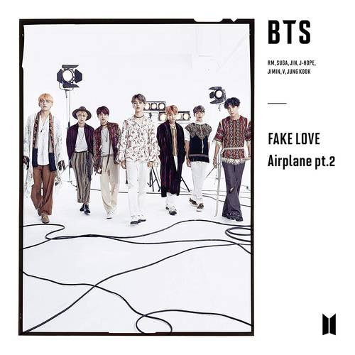 FAKE LOVE / Airplane pt.2 [CD + Book]