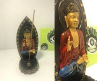 - Sitting Buddha Incense Burner