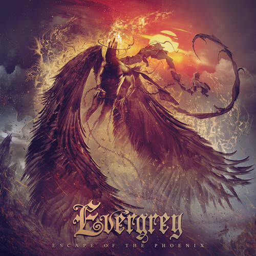Evergrey - Escape Of The Phoenix [Indie Exclusive Limited Edition Clear Red 2LP]
