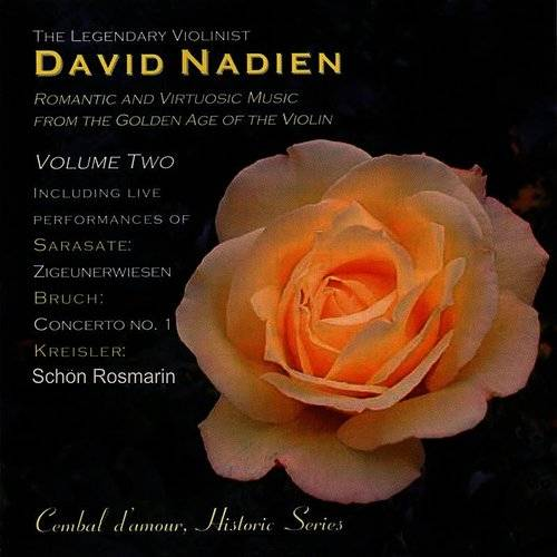 The Legendary Violinist David Nadien, Vol. 2
