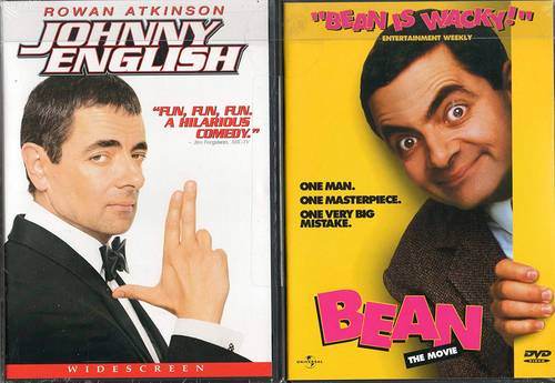 Johnny English / Bean: The Movie (2 Pack)