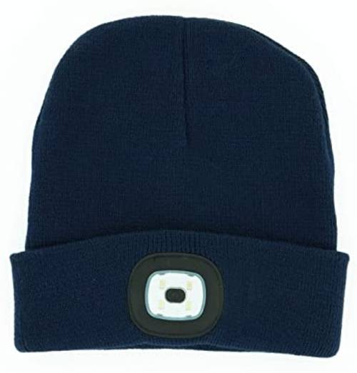 Hat - [NAVY] Rechargeable Led Beanie