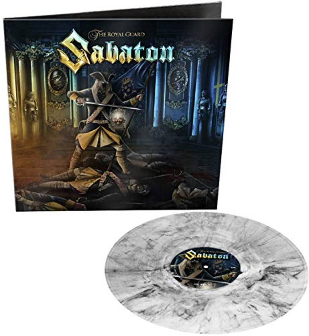 Sabaton - The Royal Guard [Transparent Black Marble Vinyl Single]