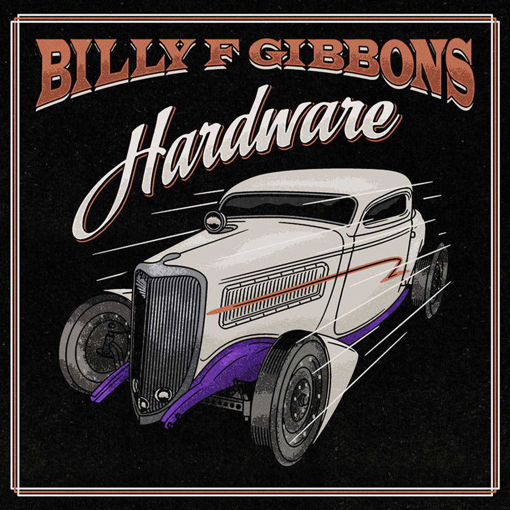 Billy F Gibbons - Hardware [Indie Exclusive Limited Edition Candy Apple Red LP]